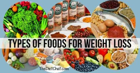 types of foods foor weight loss