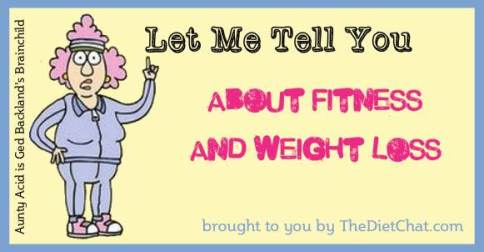 aunty acid weight loss exercises