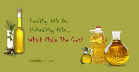 comparison of olive and vegetable oils