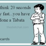 Tabata 20 second workout