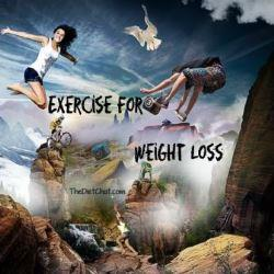 exercise for weight loss image